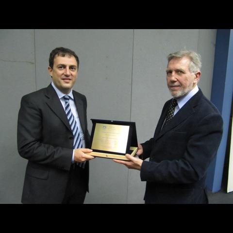 Foto della premiazione del concorso Inform@zione 2010
