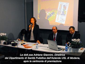 Dr.ssa Adriana Giannini - apertura della mostra