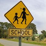 Immagine di cartello scolastico
