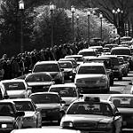 Foto di strada trafficata